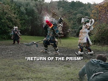 "Title Card for ""Return of the Prism""."