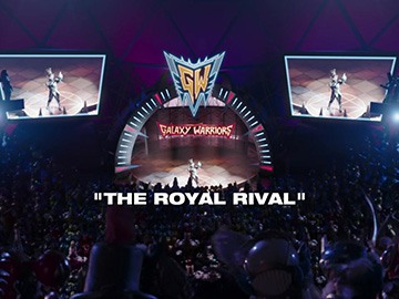 "Title Card for ""The Royal Rival""."