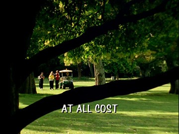 "Title Card for ""At All Cost""."