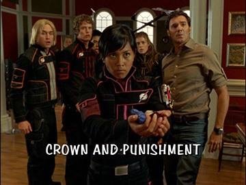 "Episode Title Card for ""Crown and Punishment"""