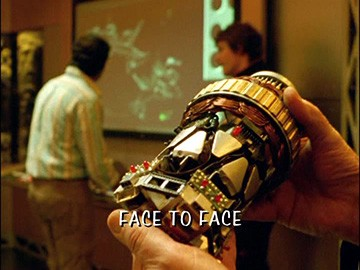 "Title Card for ""Face to Face""."