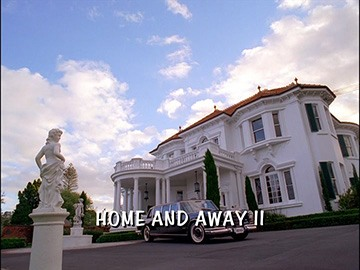 "Title Card for ""Home and Away II""."