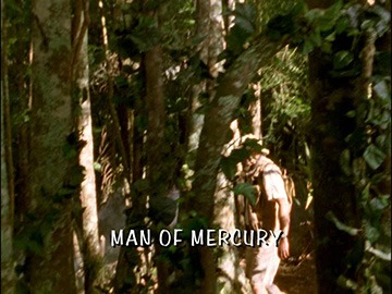 "Title Card for ""Man of Mercury""."
