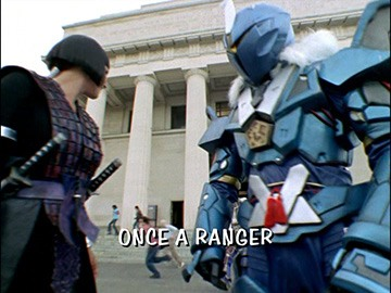 "Title Card for ""Once a Ranger""."