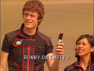 "Episode Title Card for ""Ronny on Empty II"""