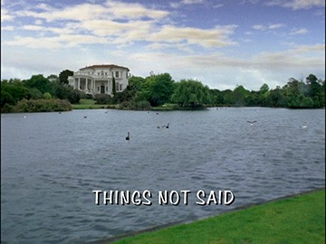 "Title Card for ""Things Not Said""."