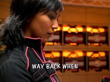 "Title Card for ""Way Back When""."