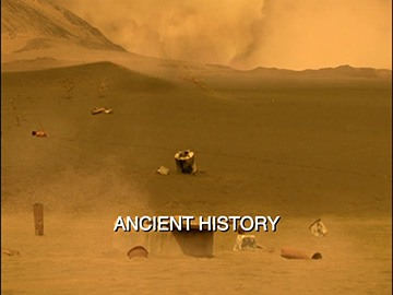"Episode Title Card for ""Ancient History"""