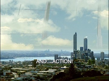 "Title Card for ""And... Action!""."