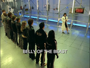 "Title Card for ""Belly of the Beast""."