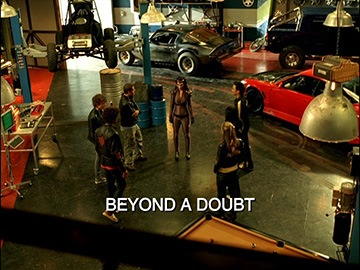 "Episode Title Card for ""Beyond a Doubt""."