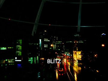 "Title Card for ""Blitz""."