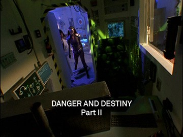 "Title Card for ""Danger and Destiny Part II""."