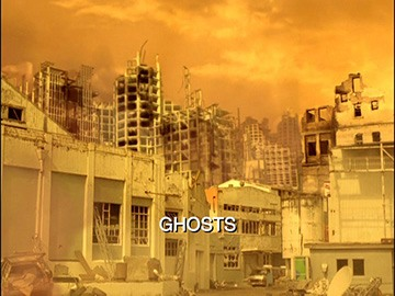 "Title Card for ""Ghosts""."
