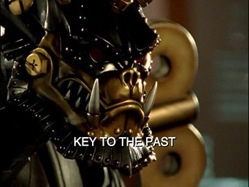 "Episode Title Card for ""Key to the Past"""