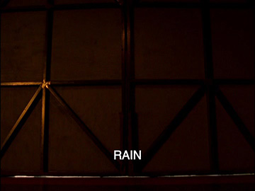 "Title Card for ""Rain""."