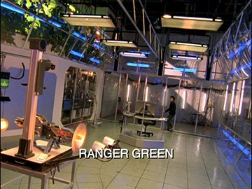 "Title Card for ""Ranger Green""."
