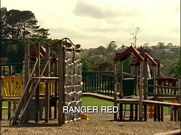 "Title Card for ""Ranger Red""."