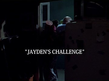 "Episode Title Card for ""Jayden's Challenge""."