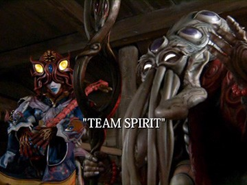 "Title Card for ""Team Spirit""."