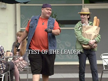 "Episode Title Card for ""Test of the Leader"""