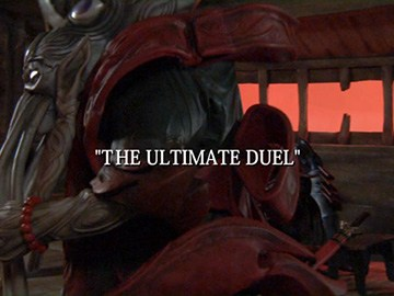 "Title Card for ""The Ultimate Duel""."
