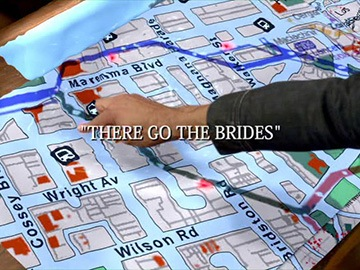 "Title Card for ""There Go The Brides""."