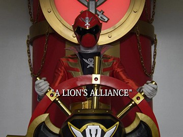 "Title Card for ""A Lion's Alliance""."