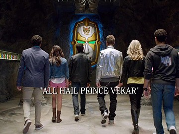"Title Card for ""All Hail Prince Vekar""."