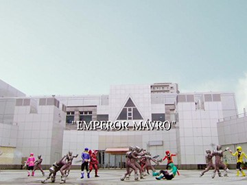 "Title Card for ""Emperor Mavro""."