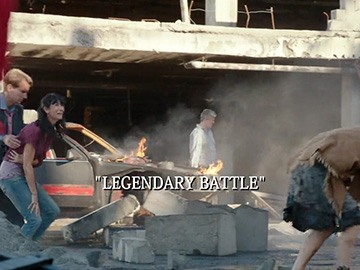 "Title Card for ""Legendary Battle""."