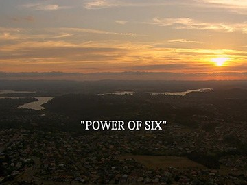 "Title Card for ""Power of Six""."