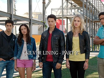 "Episode Title Card for ""Silver Lining - Part 2"""