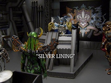 "Title Card for ""Silver Lining""."
