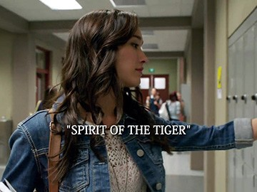 "Title Card for ""Spirit of the Tiger""."