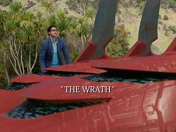 "Episode Title Card for ""The Wrath""."