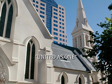 "Title Card for ""United as One""."
