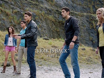 "Title Card for ""Vrak is Back, Part 2""."