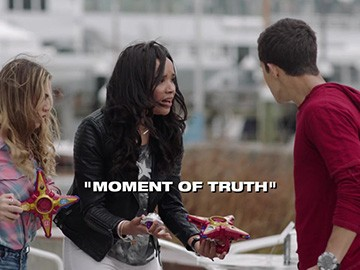 "Title Card for ""Moment of Truth""."