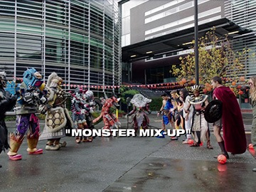 "Title Card for ""Monster Mix-Up""."
