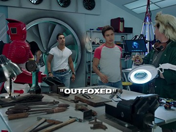 "Title Card for ""Outfoxed""."