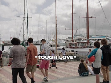 "Title Card for ""Tough Love""."