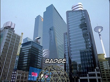 "Episode Title Card for ""Badge"""