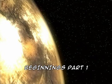 "Title Card for ""Beginnings Part 1""."