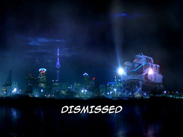 "Title Card for ""Dismissed""."