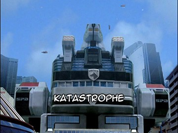 "Title Card for ""Katastrophe""."