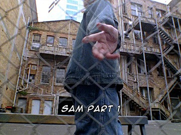 "Title Card for ""Sam Part 1""."
