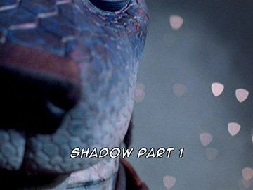 "Title Card for ""Shadow Part 1""."