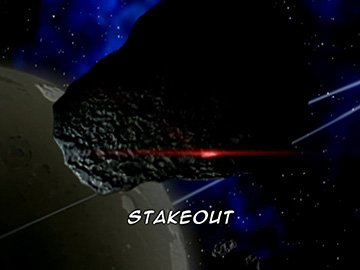 "Title Card for ""Stakeout""."