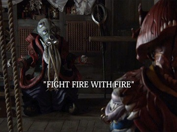 "Episode Title Card for ""Fight Fire with Fire"""